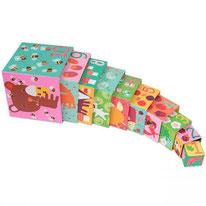 Cubes animaux de la forêt - Djeco