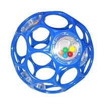 Balle bleue alvéolée - O'ball
