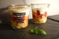 Mädchenvöllerei Food Foodblod Saarland Rezept Kochen Kuchen im Glas Erdbeer Fanatschnitten Fanta