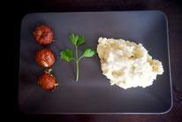 Mädchenvöllerei Pi mal Butter Food Blog Saarland Kochen Rezepte Cooking Cook Marquez-Bällchen mit Kartoffelstampf