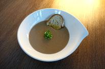 Getrüffelte Maronisamtsuppe Maronen Suppe
