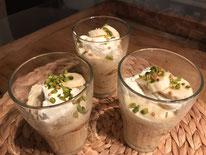 Vanillecreme mit Zimtbanenen und Krokant Pi mal Butter Mädchenvöllerei Food Blog Saarland Rezept