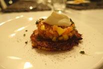 Mädchenvöllerei Pi mal Butter Food Blog Saarland Kochen Rezepte Cooking Cook Kartoffelrösti Lachs Mango Tatar Limette