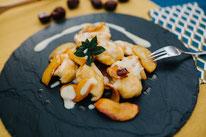 Pi mal Butter Mädchenvöllerei Food Blog Rezept Geirade Geheiratete saarländische Küche Verheiratete Mehlknepp