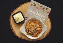 Mädchenvöllerei Pi mal Butter Food Blog Saarland Kochen Rezepte Cooking Cook Pflaumen Saarland Crumble Vanilleeis
