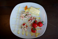 Gratinierter Spargel  mit Käsevariation - Mädchenvöllerei Pi mal Butter Food Blog Saarland Kochen Rezepte Cooking Cook