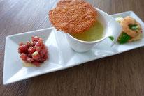 Zucchinicremesuppe gesellt sich zu 2erlei Asiatisch - Mädchenvöllerei Pi mal Butter Food Blog Saarland Kochen Rezepte Cooking Cook