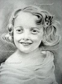 1997 Dessin au crayon HB sur feuille canson 24/32 cm