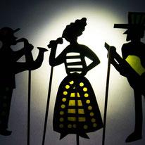 Schattenfiguren basteln | Workshop-Leitung Goethe Institut