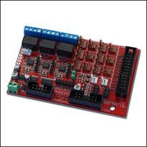 Interface Karte für Spindelrehzahl und Anschluss von bis zu 5 Achsen an den Controller SMC5D