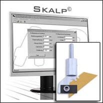 Skalp Software zum Schneiden von Folien, Karton etc. mit einem Schleppmesser
