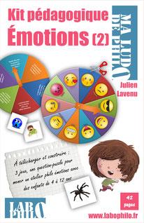 Kit pédagogique sur les émotions. Philosophie pour enfants. Esprit Filliozat.