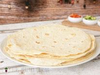 Dinkel-Mais-Tortillas, Wraps