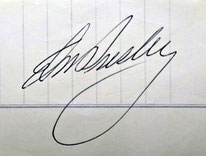 Herzlichen Dank! Gerda Ziadak überließ dem Online Museum Bad Nauheim eines ihrer Elvis-Presley-Autogramme! ONLINE-MUSEUM BAD NAUHEIM, 06.06.2015