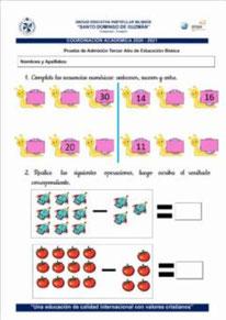 Orden y secuencias numéricas