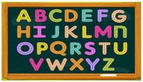Escribe las letras
