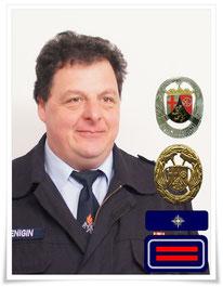 Stellvertretender Wehrführer Hubert Henigin