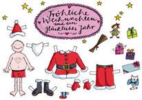 Weihnachtskarte für kioskknallpink