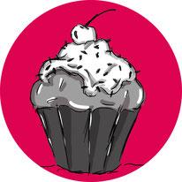 Lebensmittel-Zeichnung, Lebensmittel-Illustration
