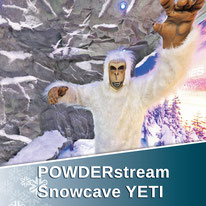 More about POWDERstream Snowcave YETI technology