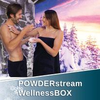 Die POWDERstream® WellnessBOX ist die feinste Art der Abkühlung