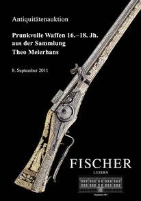 Sonderkatalog Auktion Antike Waffen und Militaria Sep. 2011