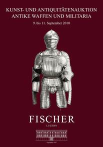 Katalog Auktion Antike Waffen und Militaria September 2010