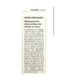 Presseberichte 2003