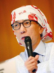 ランチョンセミナー座長の青森県立保健大学の吉池信男先生