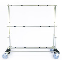 TSL 700 Glastransportwagen transportsolution bis 700 kg Traglast