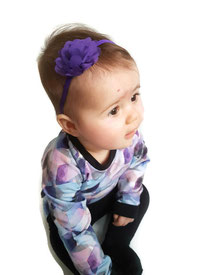baby haarbandje met bloem