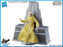 Supreme Leader Snoke w/ Throne