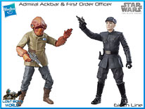 Admiral Ackbar & FO Officer