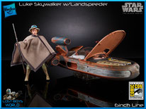 Luke Skywalker w/ Landspeeder