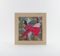 Cadre Mésange - Format 11x11cm - 20€