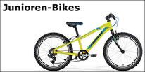 Junior- und Kinder-Bikes von Bergamont und Merida