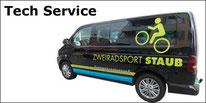 Service und Reparaturen jeder Herkunft und Marken an Bikes und Fitnessgeräten