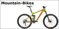 Mountain-Bikes von Bergamont und Merida