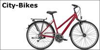 City-Bikes von Bergamont und Kalhoff