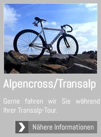 Transalp Alpencross Tour Bikeshuttle