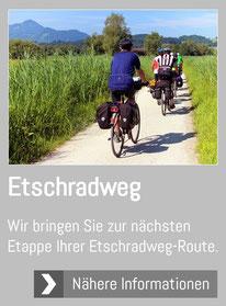 Etschtal Radweg Bikeshuttle