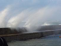 tempête à Portivy