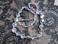 collier ancien perle de verre
