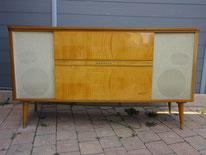 meuble hifi grundig vintage