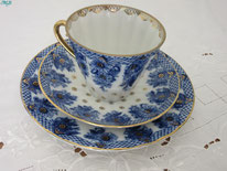 tasse urss bleue céramique