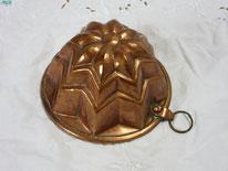 moule en cuivre ancien