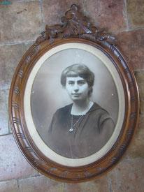 portrait femme photo ancienne