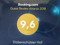 Auszeichnung Booking Ferienhaus Ferienwohnungen FeWo Bautzen