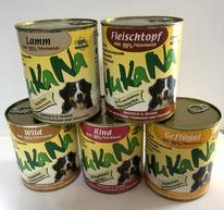 HUKANA Naturbasis Dosenfutter erhältlich bei Zoo Kellner