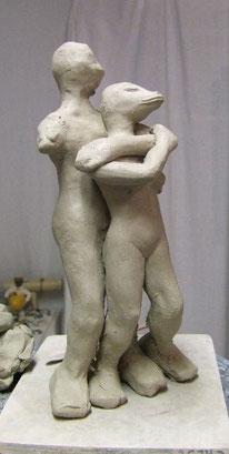 fabrication sculpture céramique
